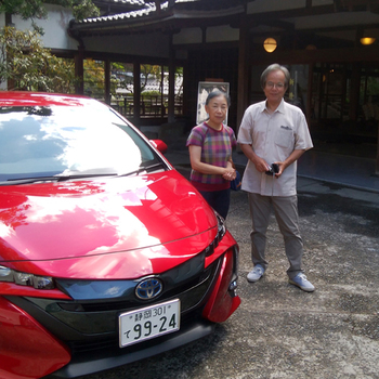 憧れのプリウスで伊豆をドライブしたい。 静岡市 M.K 様