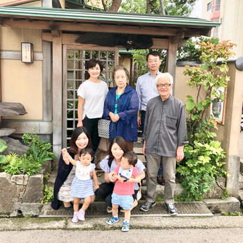 金沢のひいおじいちゃん・ひいおばあちゃんに会いに行く! 磐田市 N.H 様